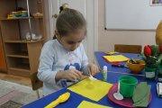 Подготовка к празднику 8 Марта в «Ромашке»